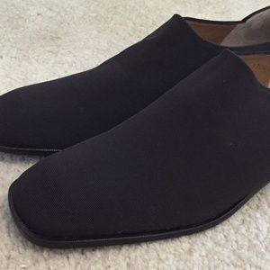 Women's Donald J Pliner Brown Stretch Shoes Heels
